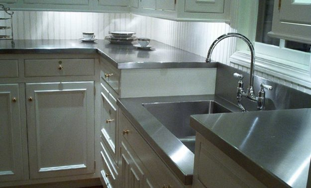 Beau Stainless Steel Countertops