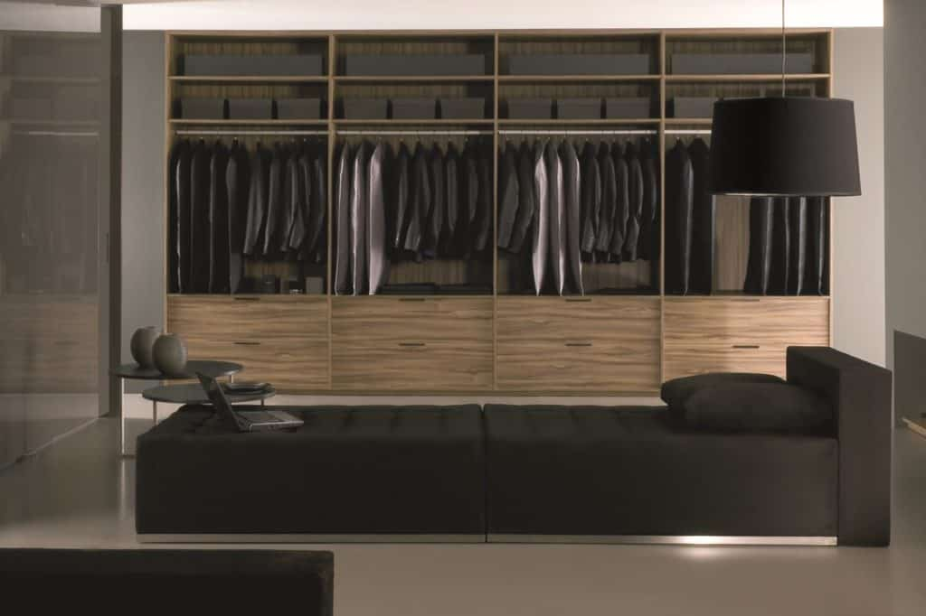 Modern Closet Cabinets and Closet Systems Houston by Foscari